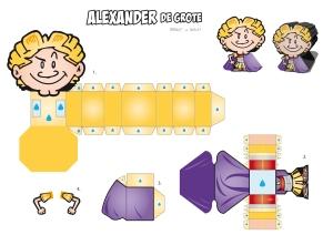 AlexanderPaperToyDesign3D