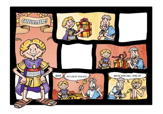ADGD10001 - Alexander de Grote - Comic Cards - Frame.indd