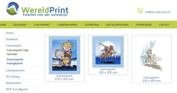Canvasprint WP